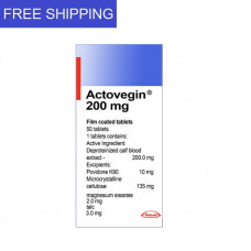 ACTOVEGIN 200mg 50 tablets