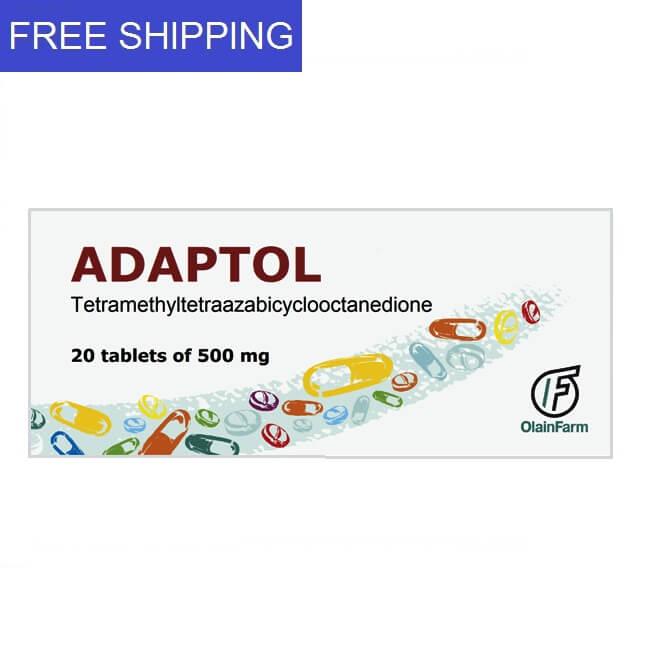 ADAPTOL 500mg 20 tablets