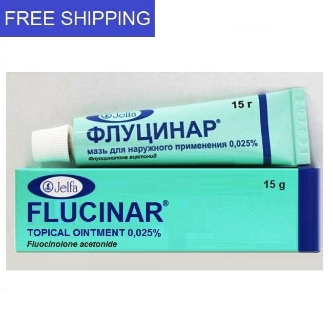 FLUCINAR OINTMENT 15 G 0.025%