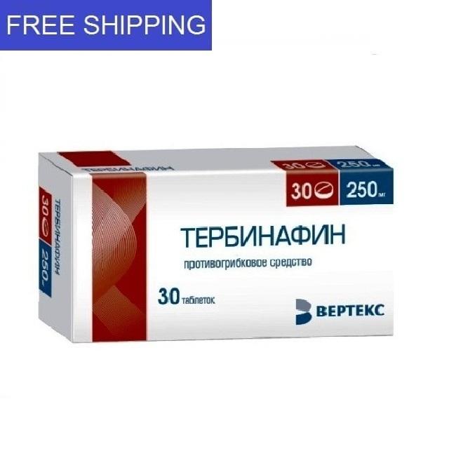 TERBINAFINE 250mg 30 tablets
