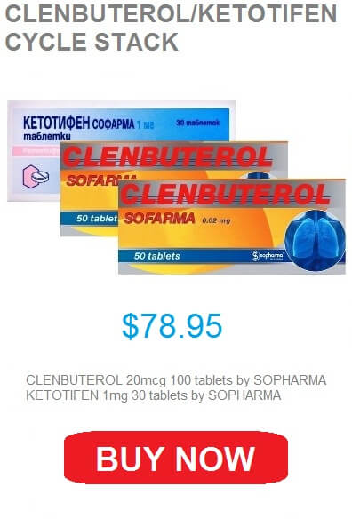 Clenbuterol and Ketotifen for fat loss cycle